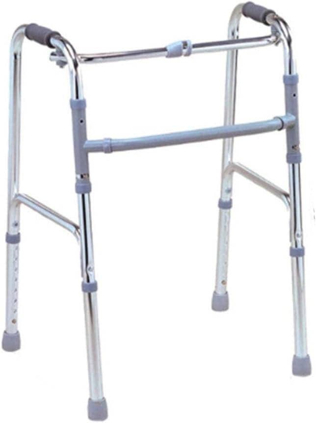 Y-L Ancianos Discapacitados Caminata Levemente Ajustable Conducción Asistida Médico, Andador de Aluminio Muletas para Sillas de Ruedas Peatones Ancianos