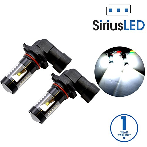SiriusLED 9005 9145 H10 Size Projection LED Super Bright 30W 6000K White (High Beam Classic Body)