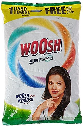 Woosh Super Detergent Powder – 1 kg with Free Hand Towel – 1 Piece