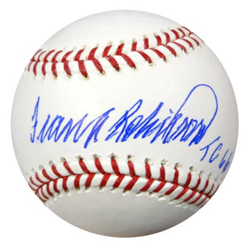 (Frank Robinson Signed Rawlings Official Major League Baseball Baltimore Orioles TC 66 - PSA/DNA Authentication - Autographed MLB Baseballs)