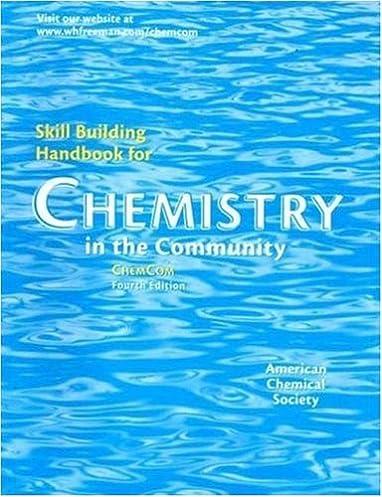 chemistry in the community skill building handbook american rh amazon com