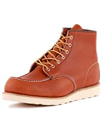Red Wing Mens 6-Inch Moc Leather Boots