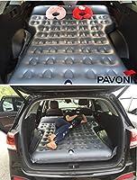 PAVONI - Colchón inflable para coche, con bomba de colchón ...