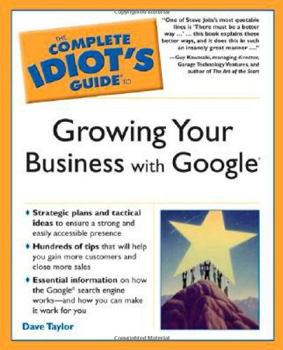 Download The Complete Idiot's Guide to Growing Your Business With Google pdf