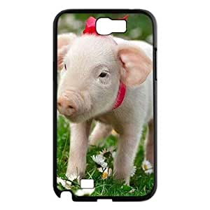 T-TGL(RQ) DIY Pig Pattern Protective Durable Back Case for Samsung Galaxy Note 2 N7100