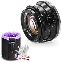 7artisans 35mm F1.2 Wide Angle Lens Large Aperture Prime APS-C Aluminum Lens for Canon EOS M Mount M-5 M6 M10 M100