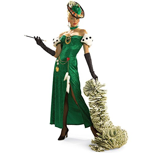Mardi Gras Lady Costumes (Rubie's Costume Co. Women's Lady Luck Costume, As Shown, Standard)