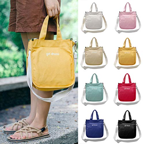 Crossbody Hobo Tote Satchel Bag Para Kunmniz Red Bolso Messenger Purse Mujeres Girl Canvas wRTxqf