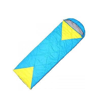 Sac de couchage Sac de couchage en plein air printemps super léger imitation soie sac de couchage enveloppe rectangulaire type camping sac de couchage, peut être épissé double sac de couchage du rep