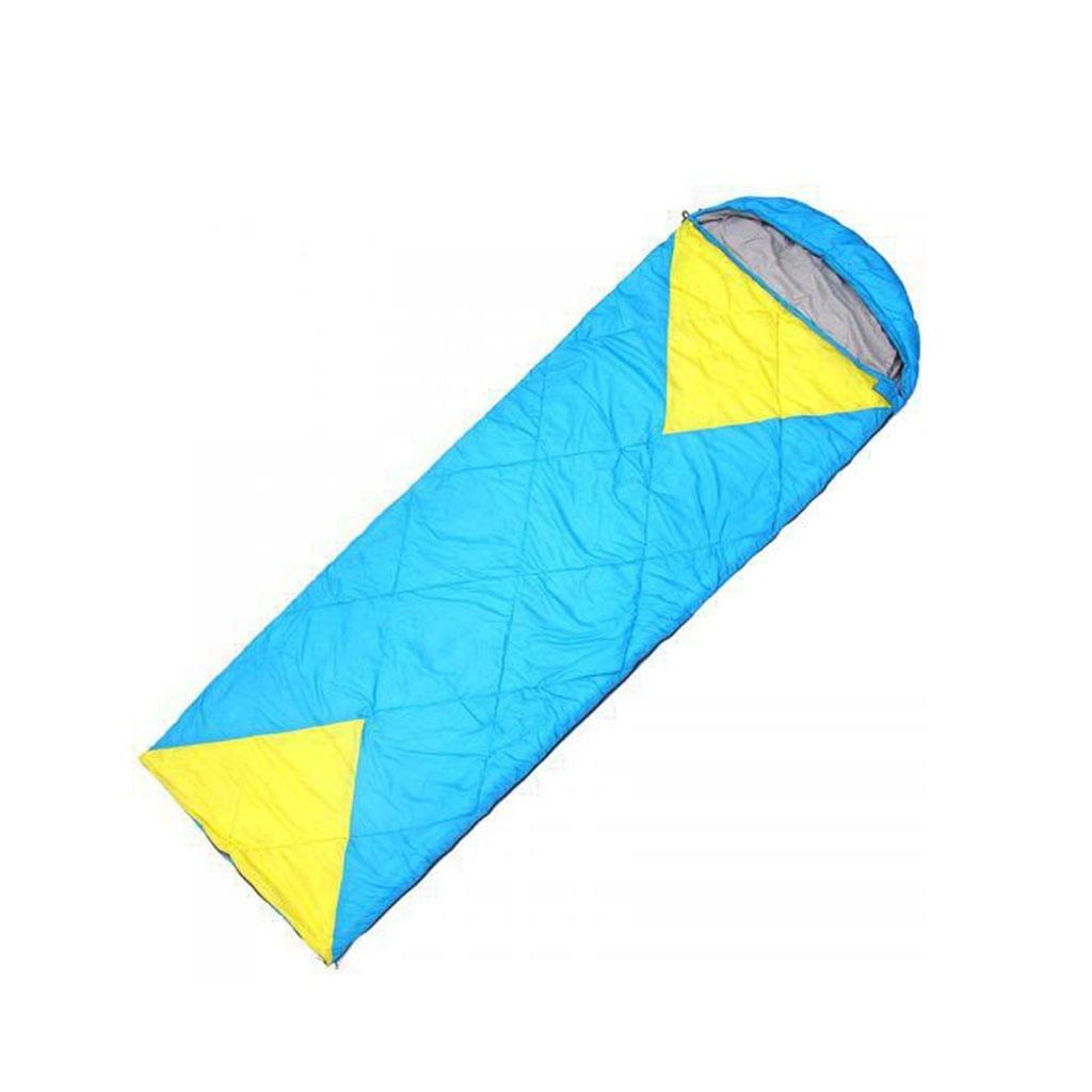 Kitzen Outdoor-Schlafsack Frühling super Licht Nachahmung Seide Schlafsack rechteckigen Umschlag Typ Camping Schlafsack, kann Doppelschlafsack gespleißt werden high quality