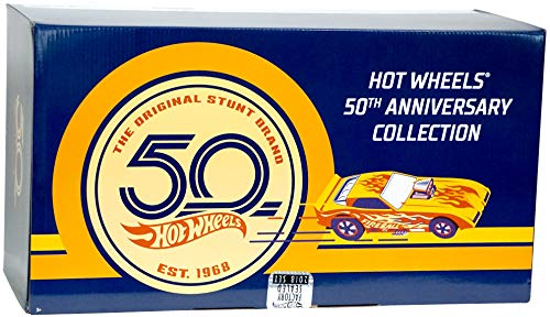 Hot Wheels Cars 50th Anniversary - Collectible, Factory Sealed 2018 Set (Total of 111 Vehicles)