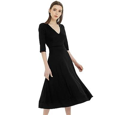 c2d40479b0c17 Vintage Spring Summer Dress Women Casual Elegant Long Party Dress ...