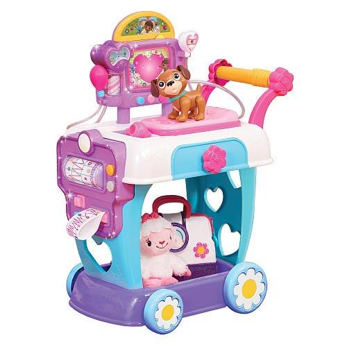 Just Play Doc McStuffins Hospital Care Cart (Dr Mcstuffins Toys)