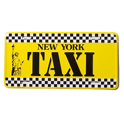 nyc license plate frame - 9