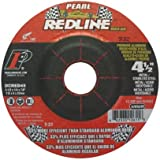 Pearl Abrasive DCRED45 4-1/2 by 1/4 by 7/8 Depressed Center Grinding Wheels by Pearl Abrasive