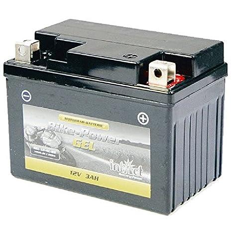 Intact Motorrad Batterie Gel 12 V 4 AH - Alternativ: YB4L-B 50411 // CB4L-B CB4L-B CBT4L-Bs