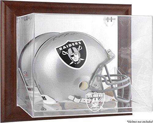 Mounted Memories Oakland Raiders Brown Helmet Display Case - Oakland Raiders One Size by Mounted Memories