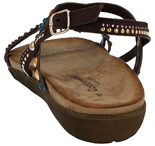 Walk Cushion Brown Donna Cushion Sandali Walk Egw1q0