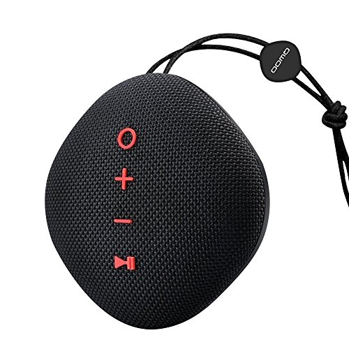 Portable Mini Bluetooth Speaker,Wireless HD Sound Waterproof & Dustproof,Built in Mic,10 Hours Playing Time,Support TF Card/Aux,for Indoor/Outdoor/Shower/Beach/Sports