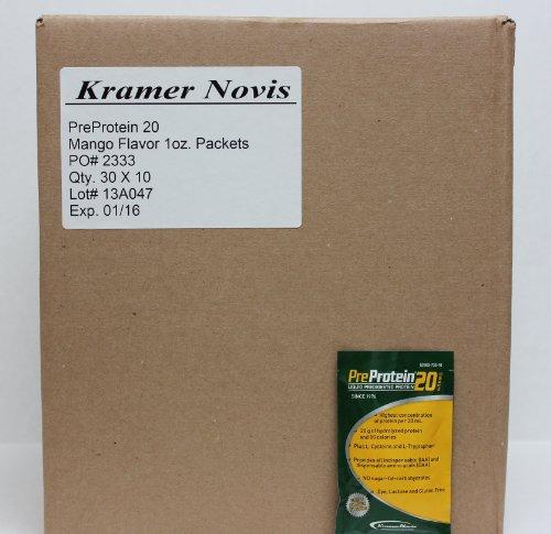 Pre-Protein 20 Mango 1 oz. Pouch - 300 ct. case by KRAMER NOVIS