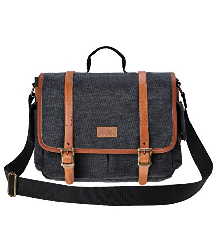Carrying ZLYC Leather Shoulder Messenger product image