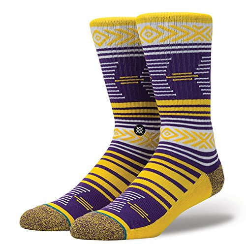 Stance Men's Mazed Tigers Socks,Large,Gold