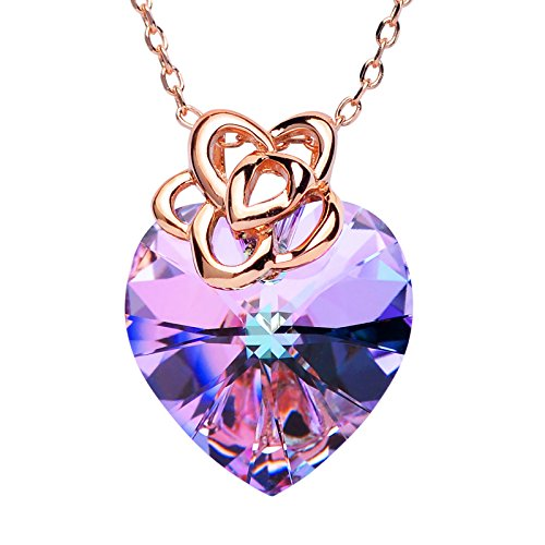SWEETV Endless Swarovski Crystal Necklace