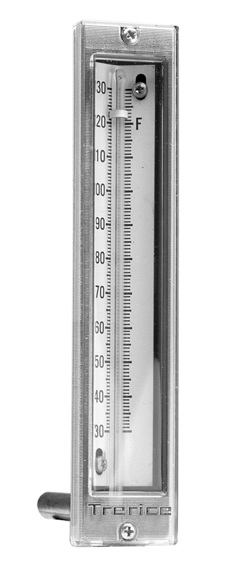 Trerice 435210207 Econo-Therm, 2'' 90˚ Angle aluminum stem, 30-240˚F