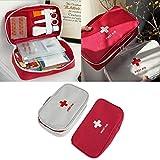 LALANCHE Multifunctional Handheld Portable Medical Medical Bag Medical Storage Bag red