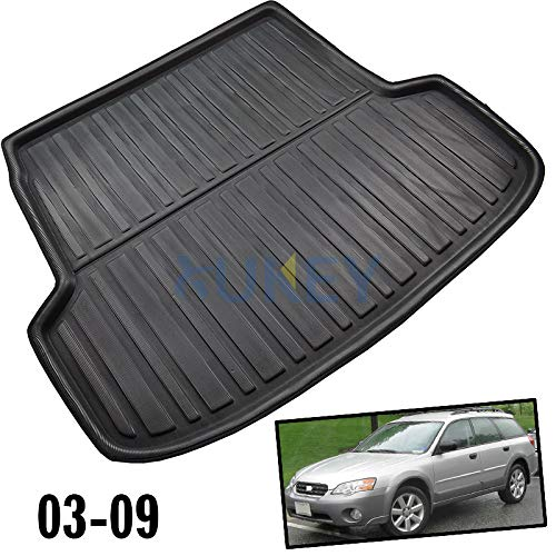 (XUKEY for Subaru Legacy Outback 2003-2009 Cargo Liner Boot Rear Trunk Mat Tray Floor Carpet Luggage Tray Mud Kick Pad Tailored)
