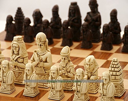 リアル Egyptian Egyptian Ornamental no Chess board) Set (creamandbrown, no board) B07BT8KX2X, 水素浄水器専門社 Water Message:237b99ae --- nicolasalvioli.com