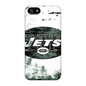 Fashion Tpu Case For Iphone 5/5s- New York Jets Defender Case Cover