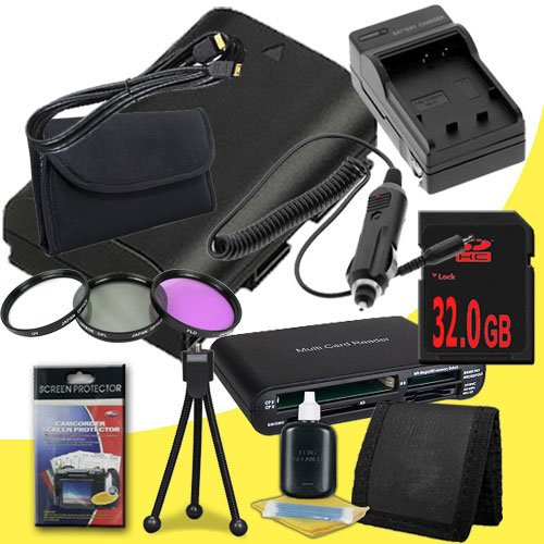 Canon EOS 70D DSLR Camera with 18-55mm STM f/3.5-5.6 Lens LP-E6 Lithium Ion Replacement Battery and External Rapid Charger + 32GB SDHC Class 10 Memory Card + 58mm 3 Piece Filter Kit + Mini HDMI Cable + Multi Card USB Reader + Memory Card Wallet + Deluxe S by DavisMAX