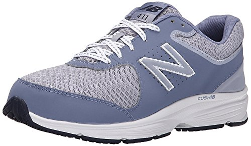 New Balance Womens WW411v2 Walking Shoe, gris, 39 EU/6 UK