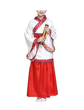 zhruiqun - Disfraz de Hanfu de Halloween, para niñas, Ropa ...