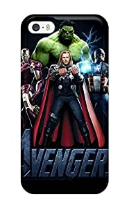 New Premium Flip Case Cover Avengers Poster Skin Case For Iphone 5/5s 2442356K18574443