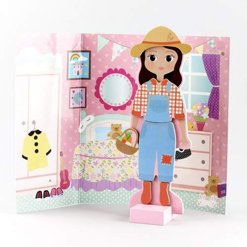 Floss & Rock Magnetic Dress Up Character - Sofia