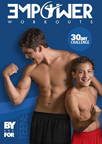 Empower Workouts 1 motivational teen fitness dvd, led by teenagers and kids! by Empower Workouts