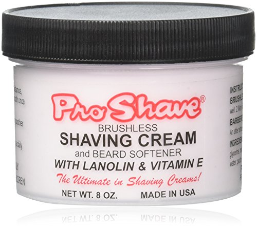 Shave Cream Brushless (Pro Shave Shaving Cream 8 oz.)