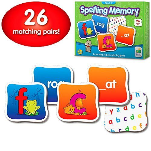 (The Learning Journey: Match It! Memory - Spelling - Reading Game for Preschool and Kindergarten 26 Three and Four Letter Picture Word Marching Game)