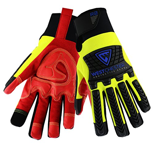 Price comparison product image West Chester 87810 R2 Reinforced Comfort Impact Glove,  XL