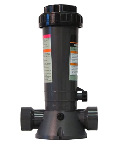Automatic Chlorinator for Above Ground and In-Ground Pools In-Line 4.2 Lbs