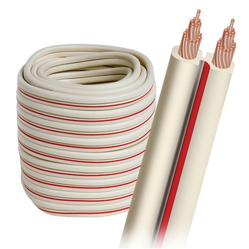 AudioQuest X-2 bulk speaker cable 30' (9.14m) spool - white jacket 14 AWG