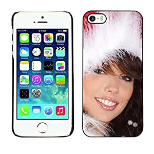 YOYO Slim PC / Aluminium Case Cover Armor Shell Portection //Christmas Holiday Sexy Hot Girl Woman 1020 //Apple Iphone 5 / 5S by icecream design