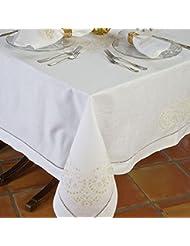 Sinatra Tablecloths White 70 X 126