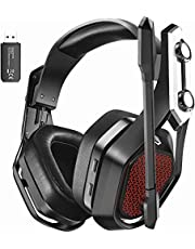$49 » Wireless Gaming headset for PS5 PS4 PC Switch, Wired mode for Xbox one