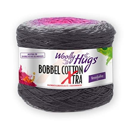 Pro Lana Woolly Hugs Bobbel Cotton Xtra 306 Amazoncouk Kitchen