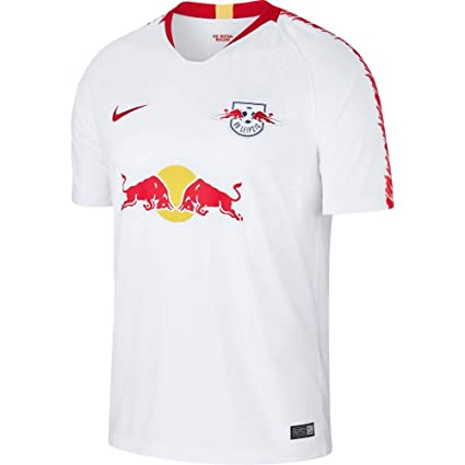 2f9218cdc Amazon.com : NIKE 2018-2019 Red Bull Leipzig Home Shirt (Kids) : Sports &  Outdoors
