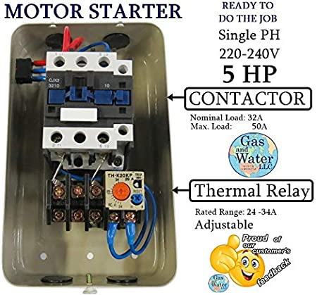 Square D Single Phase Motor Starter Wiring Diagram from images-na.ssl-images-amazon.com