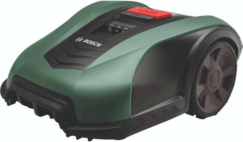 Bosch Robot cortacésped Indego M+ 700 con función de aplicación, ancho de corte 19cm, para un césped de hasta 700m², altura de corte entre 30-50mm y pendientes de hasta el 27%